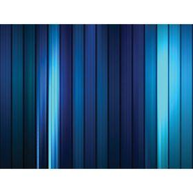 """Стеклянный фартук закаленное стекло М1 """"Синяя полоса"""", 600х600х4"""