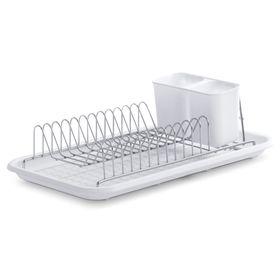Подставка для сушки посуды, размер 44х24х12 см, цвет белый