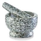 Ступка и пестик ZELLER, 13х8 см, камень