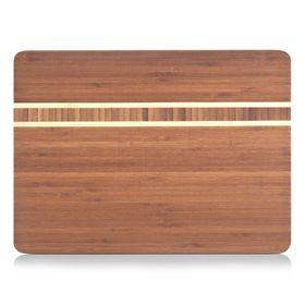 Доска разделочная, размер 34х25х1,6 см, бамбук