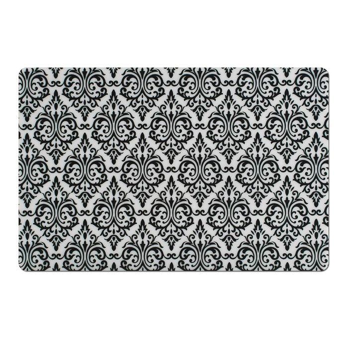 Подставка под горячее, размер 43,5х28,5 см, цвет чёрный