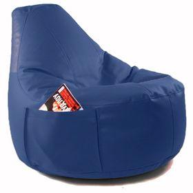 Кресло-мешок Comfort Indigo, экокожа