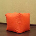 Пуфик, цвет оранжевый