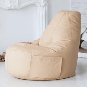 Кресло-мешок Comfort Creme, экокожа