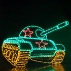 """Светодиодное панно """"Танк"""", 2000 х 2650 х 30 мм, 140 Вт"""