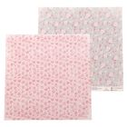 Бумага для скрапбукинга «Цветочная салфетка», 30.5 × 30.5 см, 180 г/м