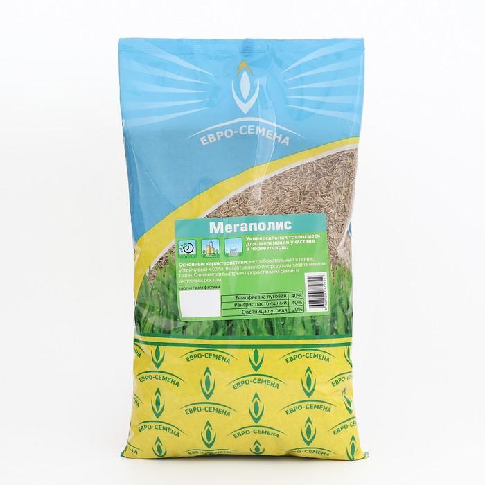 """Семена Газонная травосмесь """"Мегаполис"""", 1 кг"""