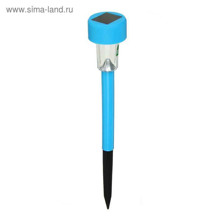 Садовый светильник на солнечной батарее Blue sparkle, серия Classic