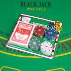 Покер, набор для игры (карты 54 шт, фишки 20 шт)