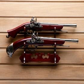 Пистолет-мушкетон настольный, Серия Ретро, 2 шт, 27х39 см