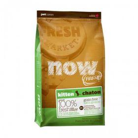 Сухой корм NOW для котят, беззерновой, с индейкой, уткой и овощами, 1,82кг