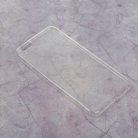 Силиконовый чехол LuazON для iPhone 6 plus, тонкий, прозрачный Ош