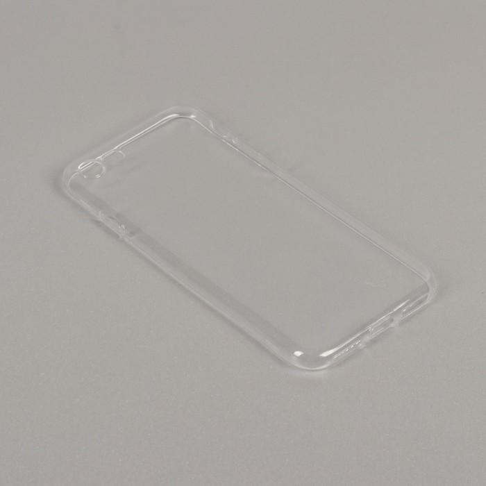 Чехол LuazON, силиконовый для iPhone 7, тонкий, прозрачный