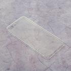 LuazON silicone case for iPhone 7 plus, thin, transparent