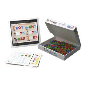 Игровой набор мягкая магнитная азбука «Буквы и звуки»