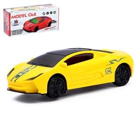 Машина «Супертачка», работает от батареек, световые и звуковые эффекты