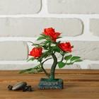 """Бонсай """"С тремя розами"""" 6*6*15 см"""