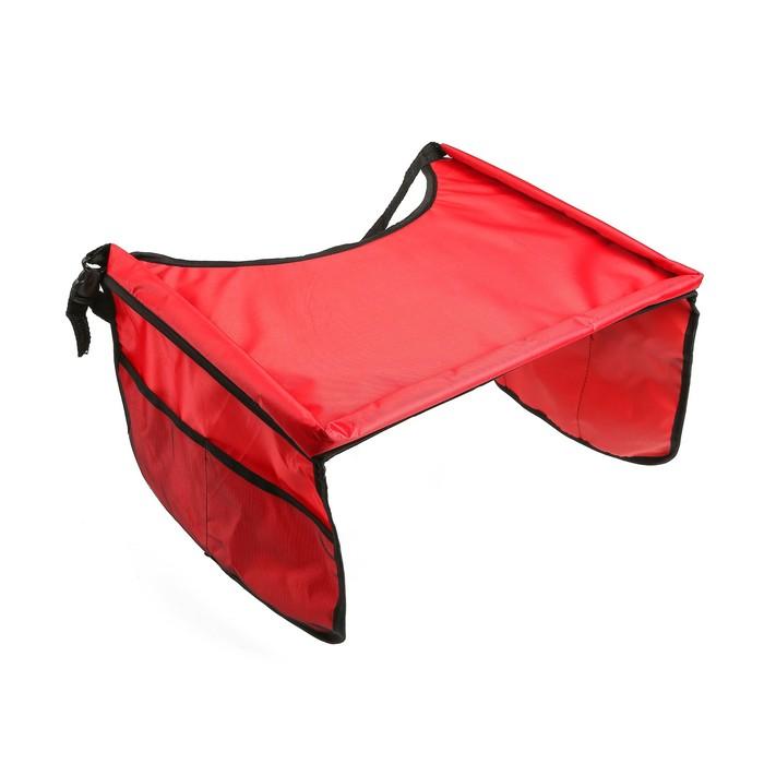 Столик-органайзер для детского автокресла TORSO, красный
