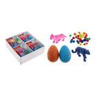 """Растущие животные """"Домашние животные """", набор: 2 яйца с динозаврами, 2 фигурки, гидрогель, МИКС"""