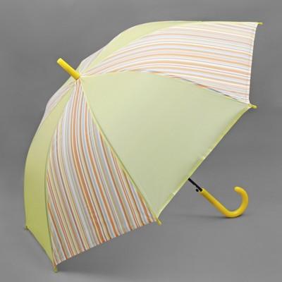 """Umbrella semi-automatic """"Bar"""", 8 spokes, R = 55 cm, color yellow"""