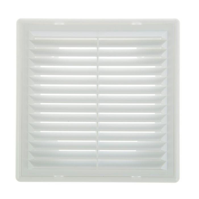 Решетка TDM, разъемная, с москитной сеткой, 150х150 мм, белая, SQ1807-0074