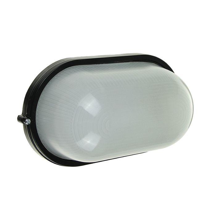 Светильник TDM НПБ1201, черный/овал 100Вт, IP54, SQ0303-0029