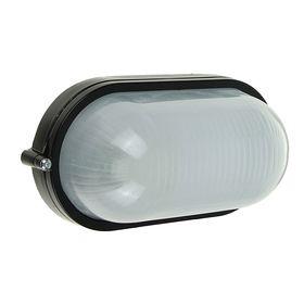 Светильник TDM НПБ1401, Е27, 60 Вт, IP54, овальный, черный