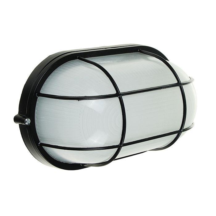 Светильник TDM НПБ1202, черный/овал с реш. 100Вт, IP54, SQ0303-0039