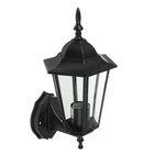 Светильник TDM, садово-парковый шестигранник, 60 Вт, вверх, черный, в разборе, SQ0330-3001