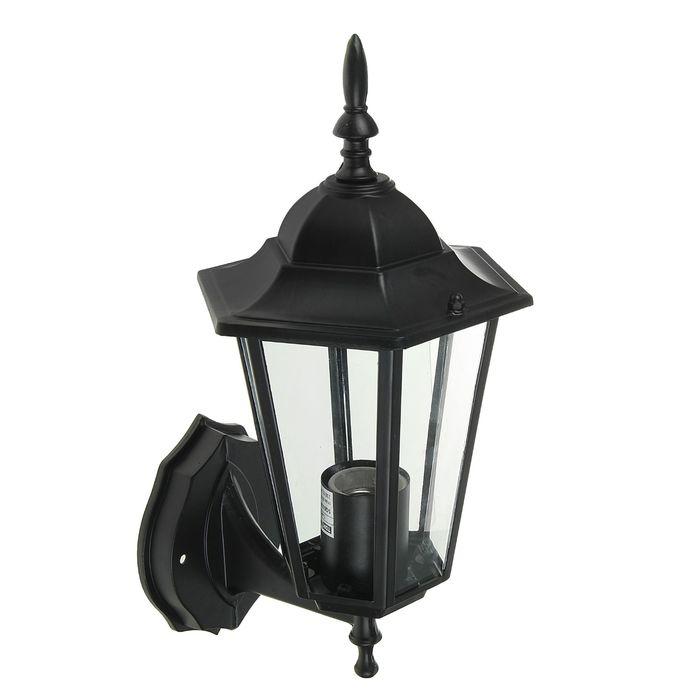 Светильник садово-парковый TDM 6060-01Р, шестигранник, вверх, черный, в разборе