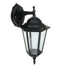 Светильник TDM, садово-парковый шестигранник, 60 Вт, вниз, черный, в разборе, SQ0330-3002
