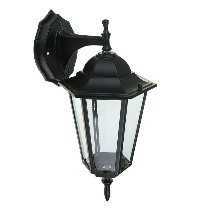 Светильник садово-парковый TDM 6060-02Р, E27, 60 Вт, шестигр., вниз, в разб., черный