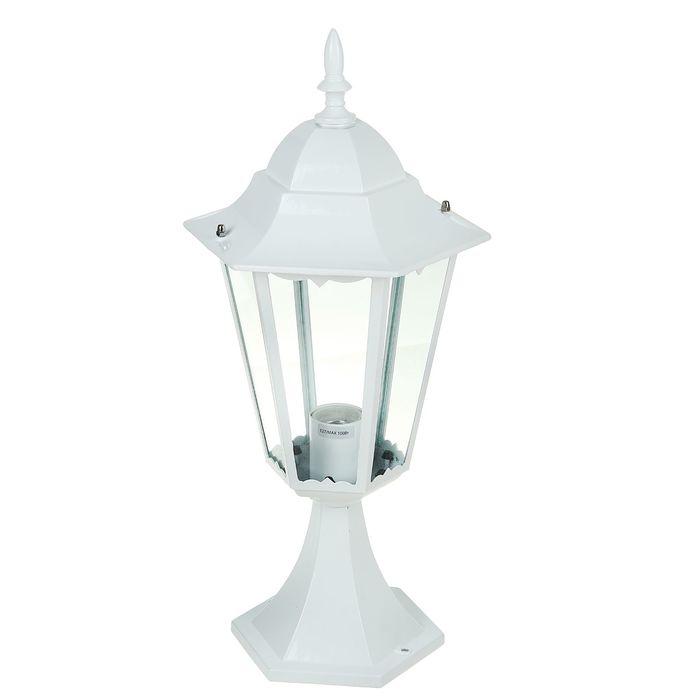 Светильник TDM 6100-24 садово-парковый шестигранник, 100Вт, стойка, белый, SQ0330-0069