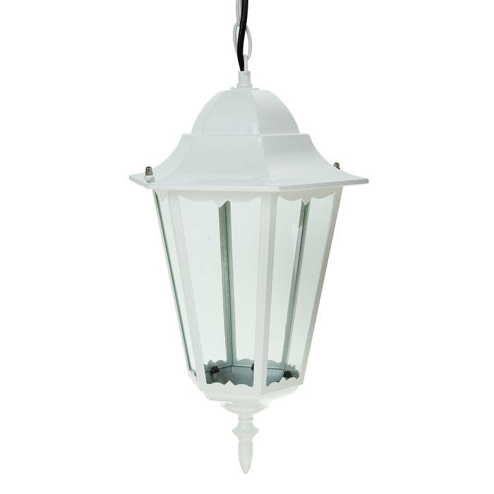 Светильник TDM 6100-25 садово-парковый шестигранник, 100Вт, подвес,белый, SQ0330-0069