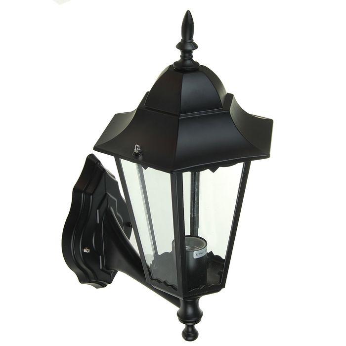 Светильник TDM 6100-01 садово-парковый шестигранник, 100Вт, вверх, черный, SQ0330-0006