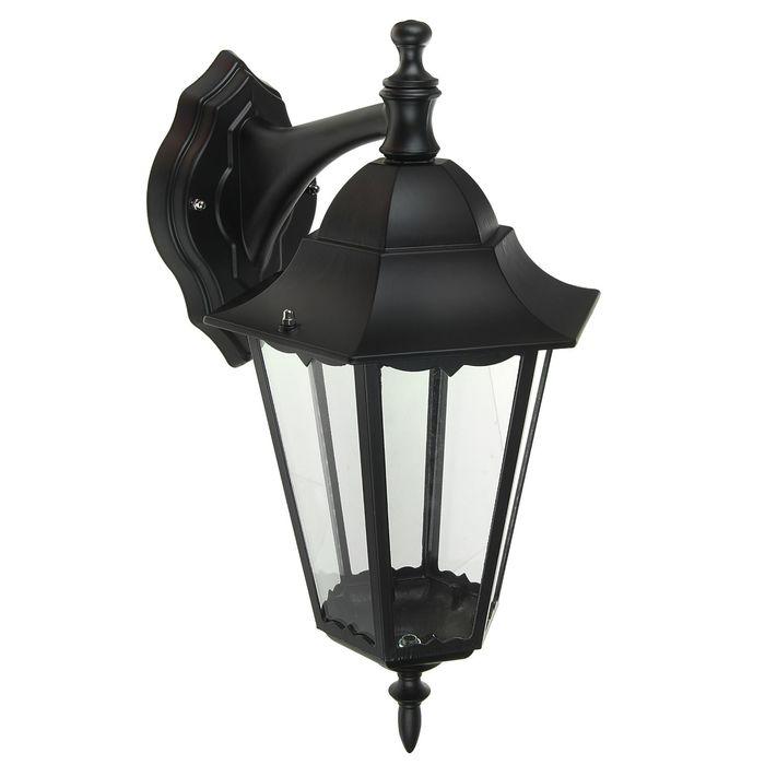 Светильник TDM 6100-02 садово-парковый шестигранник, 100Вт, вниз, черный, SQ0330-0007