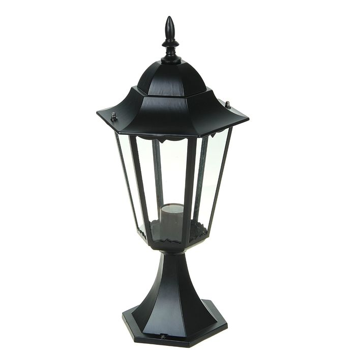 Светильник TDM 6100-04 садово-парковый шестигранник, 100Вт, стойка, черный, SQ0330-0009