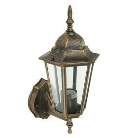 Светильник садово-парковый TDM 6060-11, E27, 60 Вт, шестигранный, вверх, цвет бронза