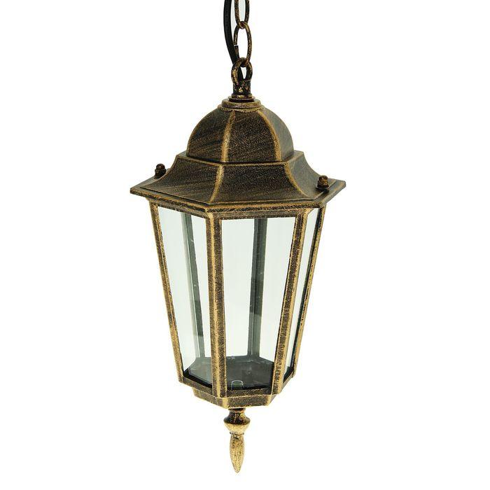 Светильник садово-парковый TDM 6060-15, Е27, 60Вт, шестигран., подвес., под бронзу,в разборе