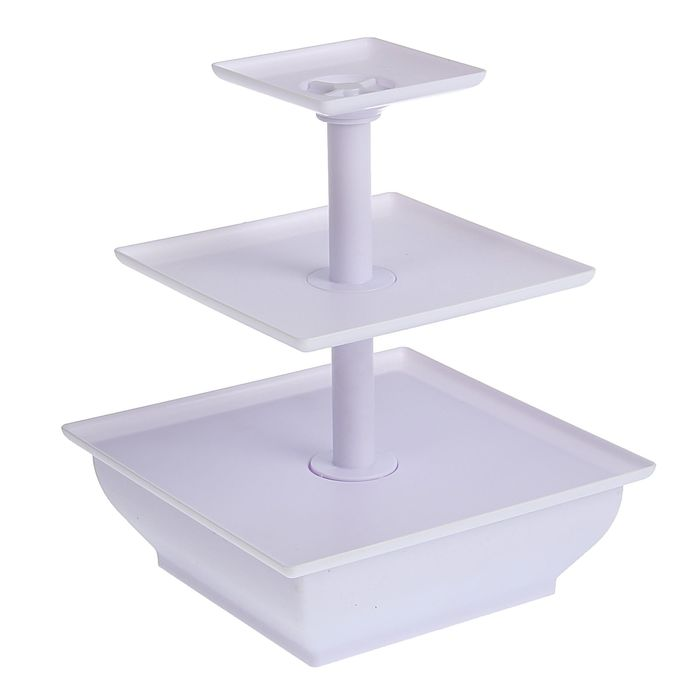 Подставка для кондитерских изделий 25,5х30 см