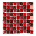 скрабукинговые стеклянные и керамические мозаики