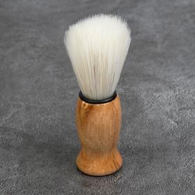 Помазок для бритья, деревянный Ош