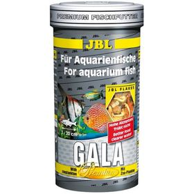"Основной корм ""премиум"" JBL Gala для рыб, хлопья, 1000 мл., 140 г."