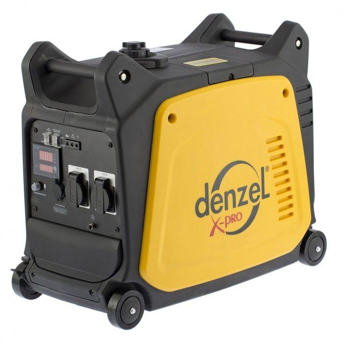 Генератор инверторный DENZEL GT-3500i, X-Pro, 3/3.5 кВт, 220 В, 7.5 л, ручной старт