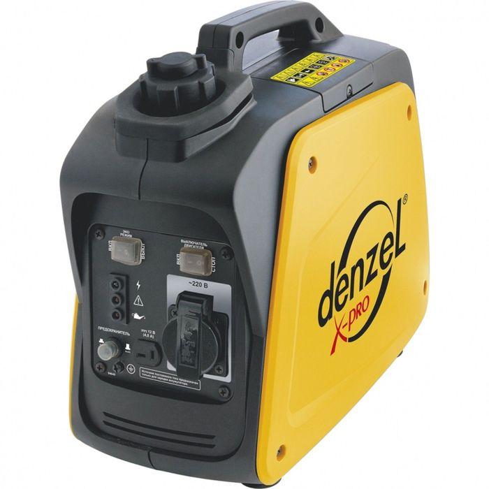 Генератор инверторный DENZEL GT-950i, X-Pro, 0.9 кВт, 220 В, 2.1 л, ручной старт