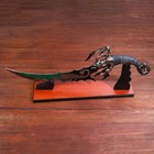 Dagger souvenir stand, the Scorpion on the blade and handle, 53.5 cm
