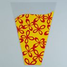 """Package for flower cone """"Milan"""" 30/40, red and yellow"""