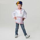 Русский народный костюм для мальчика, рубаха + картуз, р-р 30, рост 110-116 см