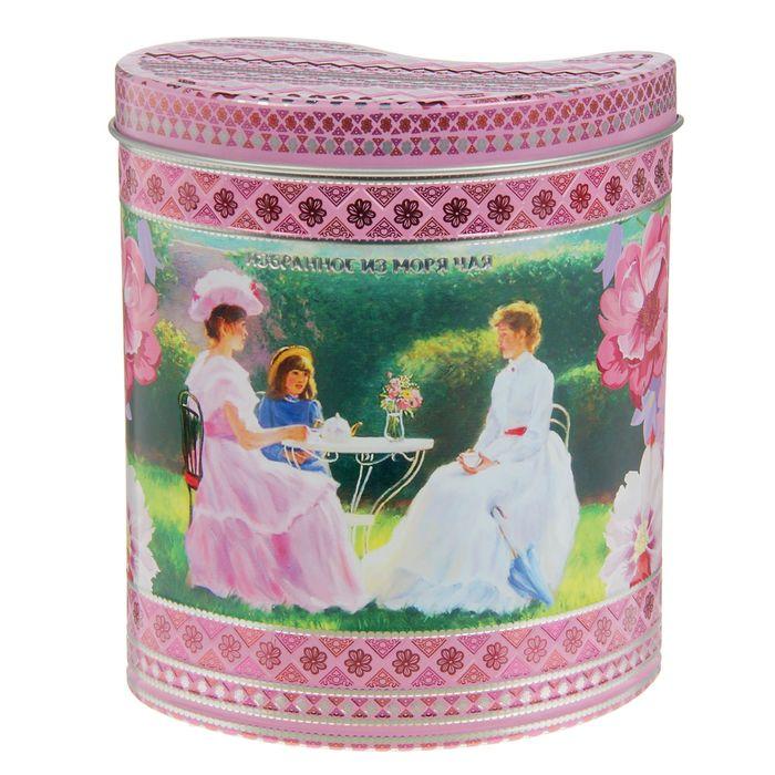 """Чай """"ИМЧ"""" Жесть - Грезы любви, розовая (1203), подарочный, Шри-Ланка, 75гр."""