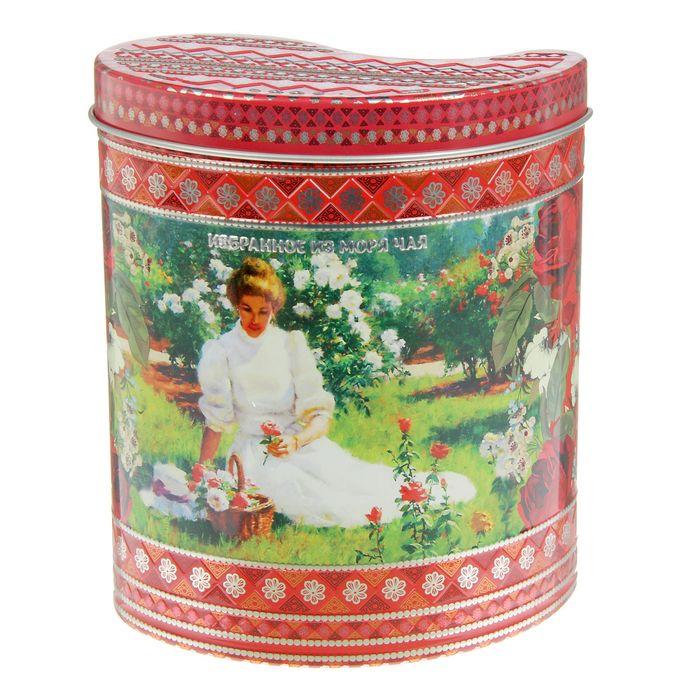 """Чай """"ИМЧ"""" Жесть - Грезы любви, красная (1224), подарочный, Шри-Ланка, 75гр."""